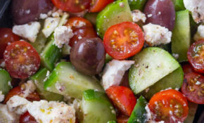 Easy Greek Salad – Recipes Greek Dinner Party