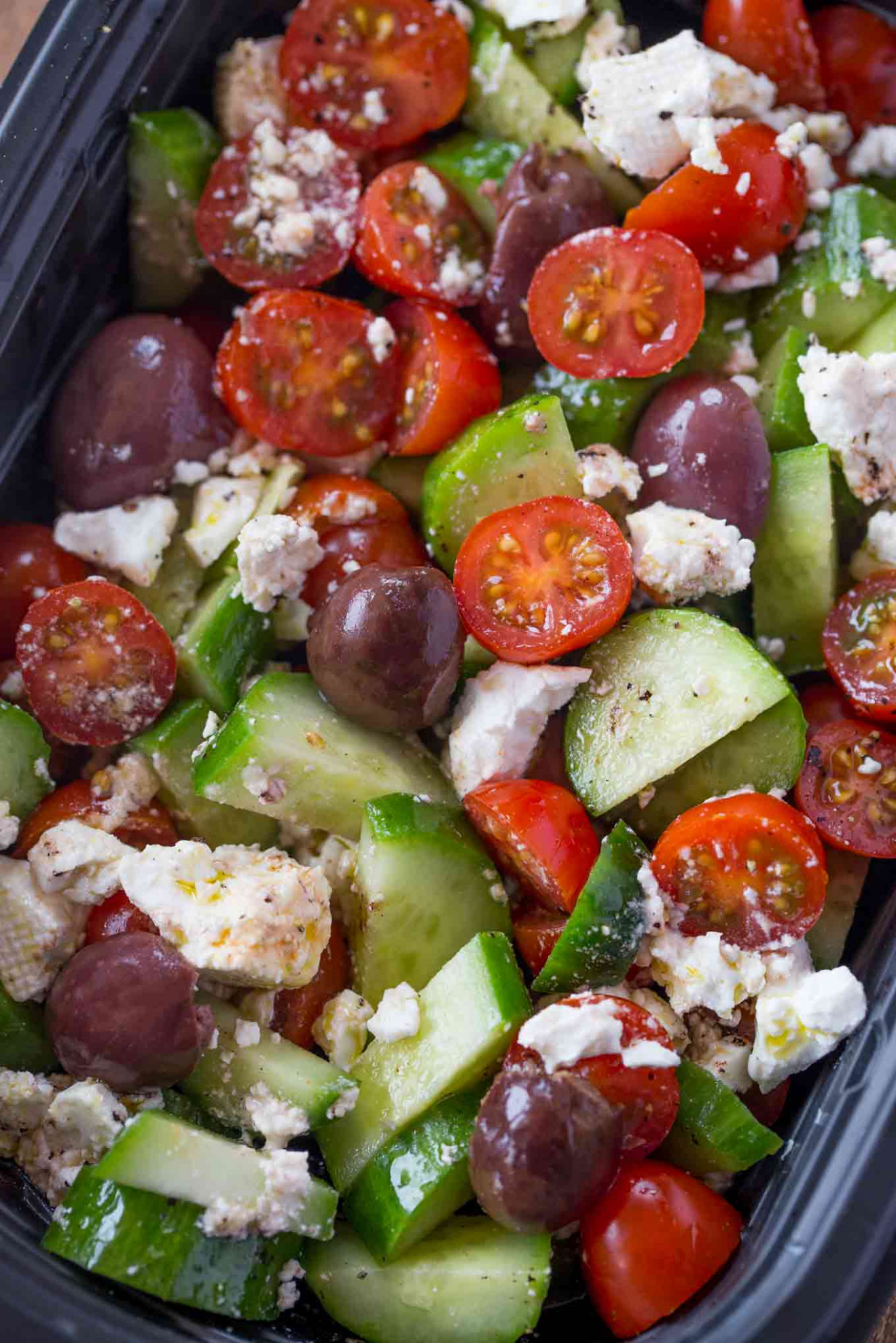 Easy Greek Salad - recipes greek dinner party
