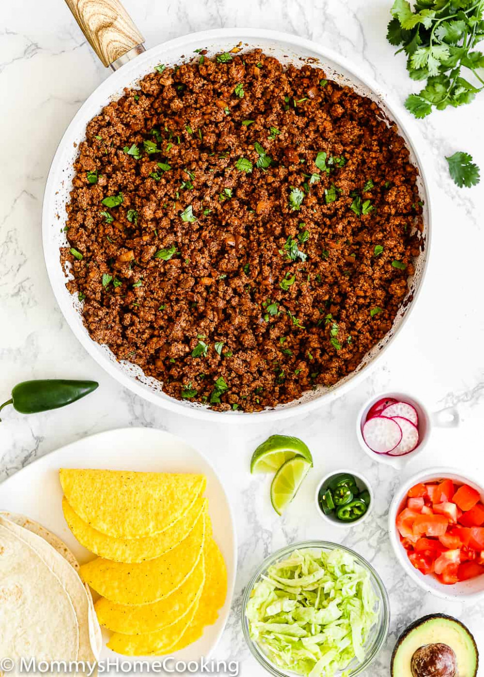 Easy Ground Beef For Tacos Recipe - Recipes With Ground Beef For Dinner