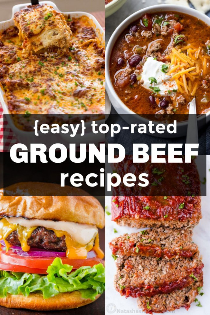 Easy Ground Beef Recipes - NatashasKitchen