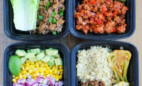 Easy Ground Turkey Meal Prep Bowls: 4 Ways – Smile Sandwich – Food Recipes Easy Healthy