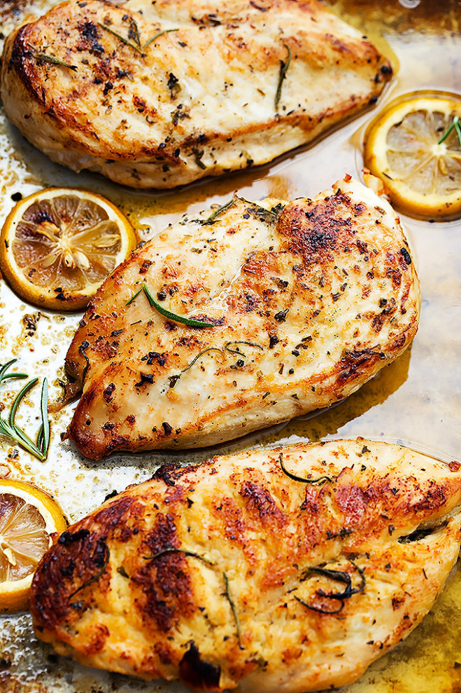 Easy Healthy Baked Lemon Chicken | KeepRecipes: Your ..