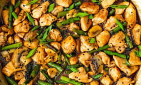 Easy Healthy Chicken And Asparagus Skillet – Chicken Recipes Quick