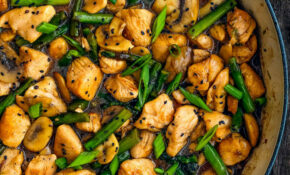 Easy Healthy Chicken And Asparagus Skillet – Mommy's Home ..