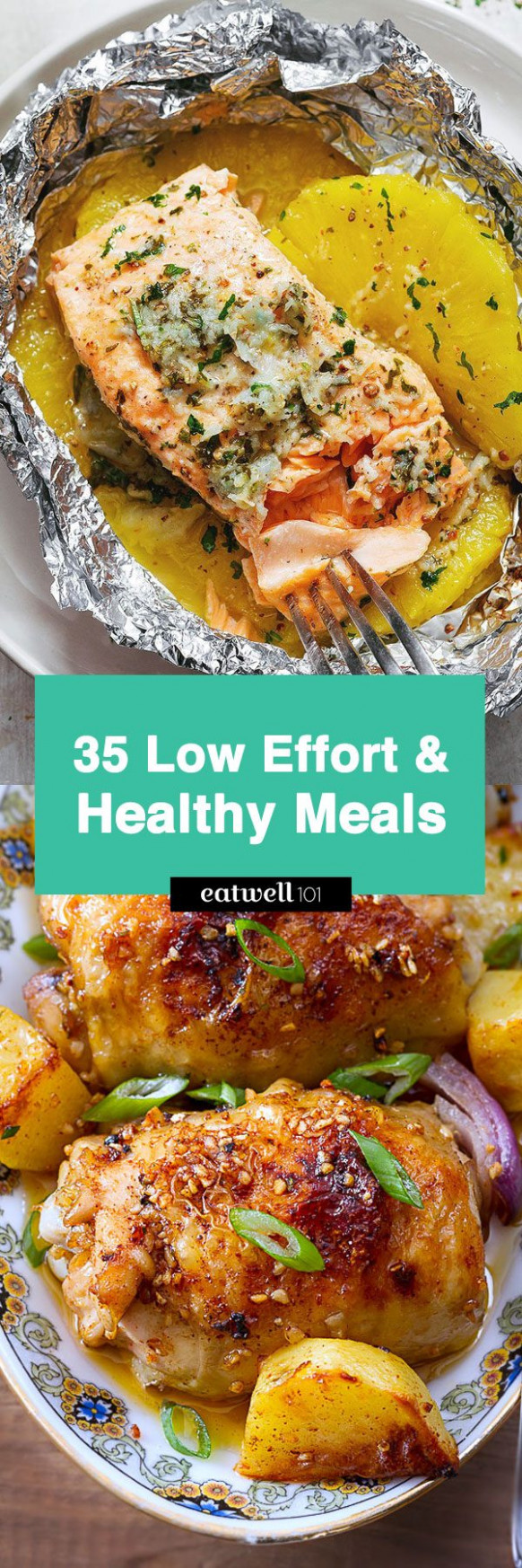 Easy Healthy Dinner Ideas: 11 Low Effort and Healthy Dinner ..