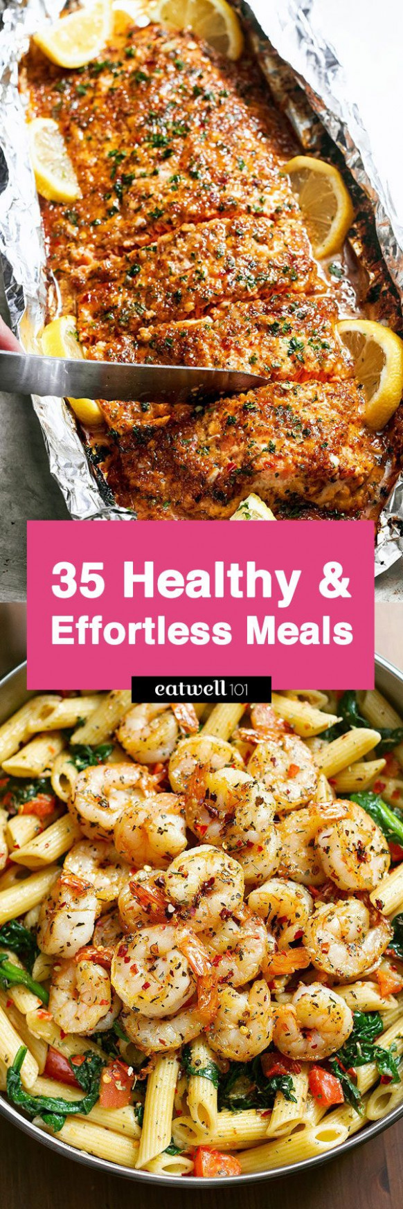 Easy Healthy Dinner Ideas: 13 Low Effort and Healthy Dinner ..
