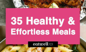 Easy Healthy Dinner Ideas: 15 Low Effort and Healthy Dinner ...