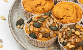 Easy Healthy Pumpkin Muffins Recipe – Vegan & Gluten Free – Recipes Canned Pumpkin Healthy