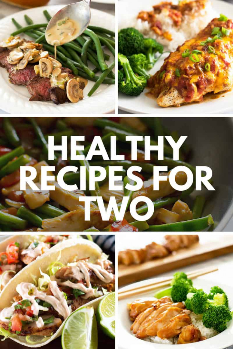 Easy Healthy Recipes for Two - Baking Mischief - healthy recipes for two
