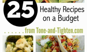 Easy Healthy Recipes On A Budget | Heart Rate Zones – Cheap Healthy Recipes