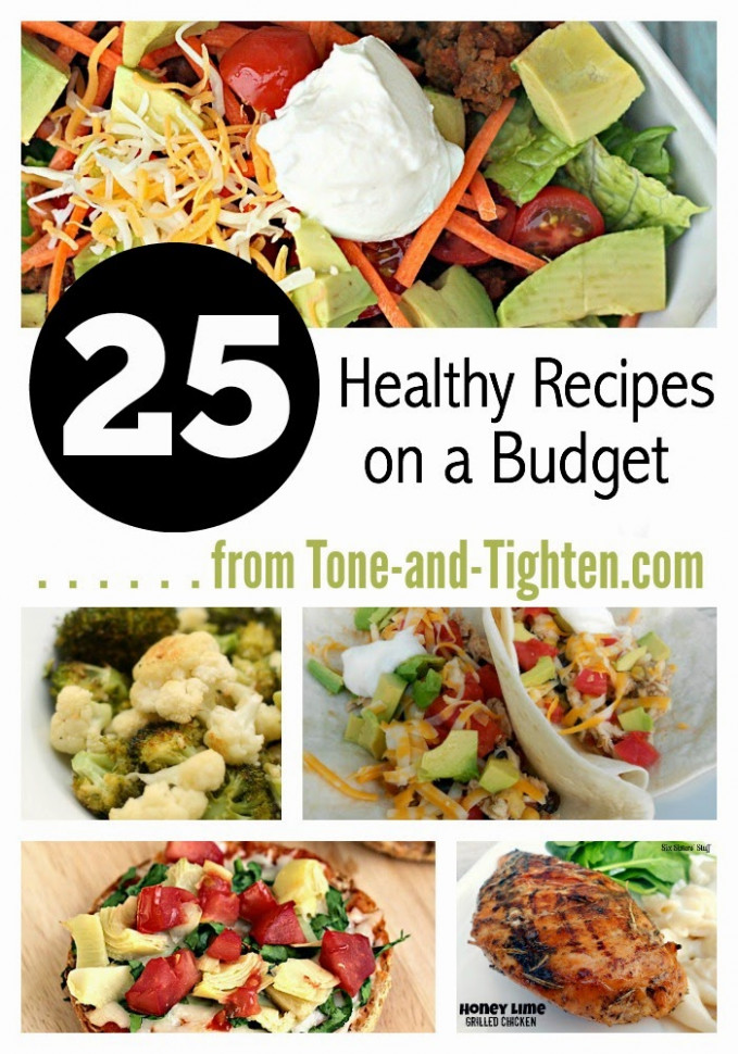 Easy Healthy Recipes On A Budget | Heart Rate Zones - cheap healthy recipes