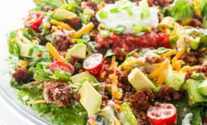 Easy Healthy Taco Salad Recipe With Ground Beef – Healthy Recipes Using Ground Beef