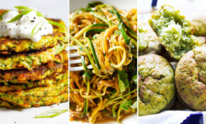 Easy Healthy Zucchini Recipes: 14 Options for Dinner ...