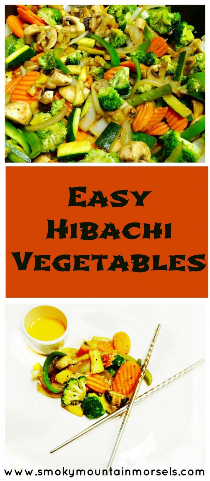 Easy Hibachi Vegetables - healthy recipes quick dinner