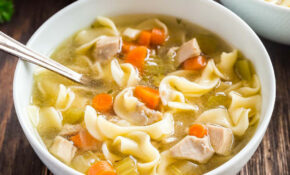 Easy Homemade Chicken Noodle Soup Recipe – Noodle Recipes Chicken