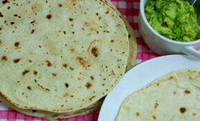 Easy Homemade Healthy Flour Tortilla Recipe – Recipes Using Corn Tortillas Healthy