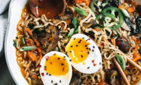 Easy Homemade Healthy Ramen Bowls – College Housewife – Healthy Ramen Recipes