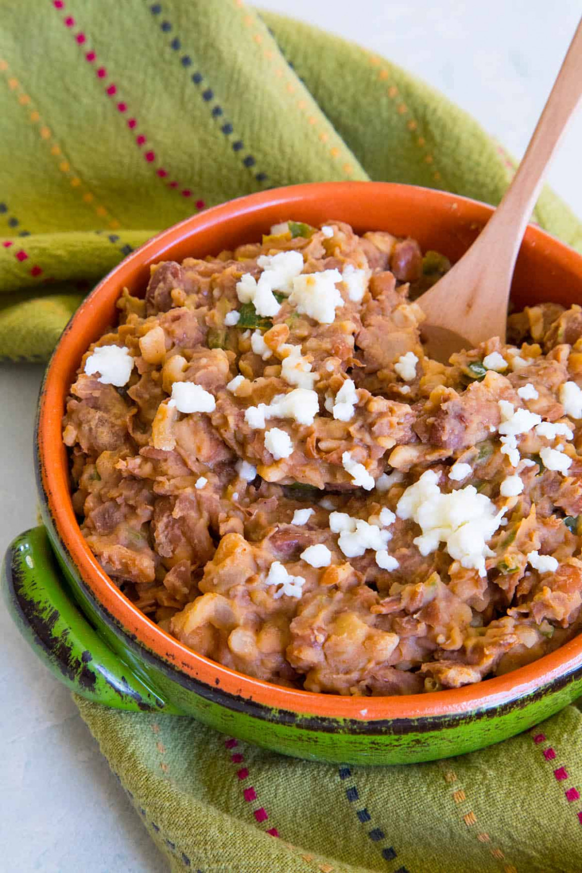 Easy Homemade Refried Beans Recipe - recipe vegetarian refried beans