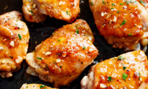 Easy Honey Garlic Chicken – Cafe Delites – Chicken Recipes Honey