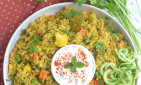 Easy Indian Style Vegetable Quinoa Pulao Recipe ..