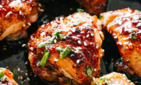 Easy Instant Pot Sticky Chicken Thighs Recipe | Diethood – Instant Pot Recipes Chicken Thighs