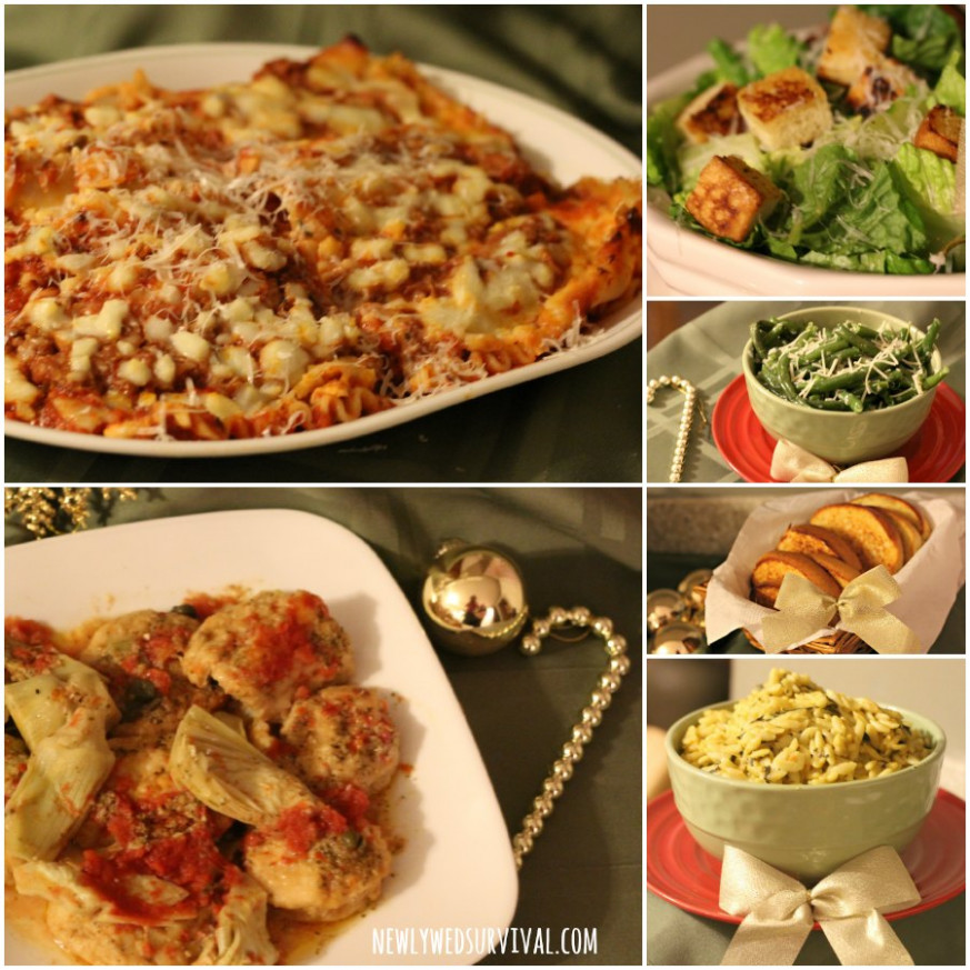 Easy Italian Dinner Party Menu Ideas featuring Michael ..