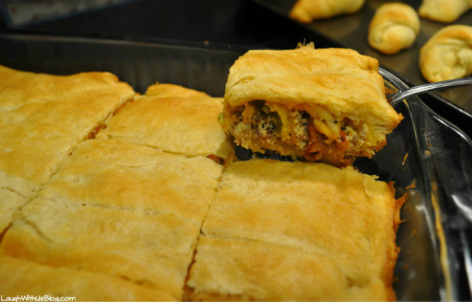 Easy Jimmy Dean Sausage Squares - Laugh With Us Blog - dinner recipes jimmy dean pork sausage
