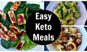 Easy Keto Meals – Full Day Of Low Carb Ketogenic Diet ..