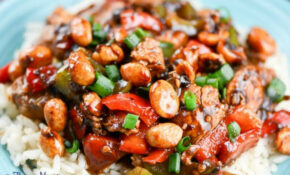 Easy Kung Pao Chicken Recipe – Flavor Mosaic – Recipes Kung Pao Chicken