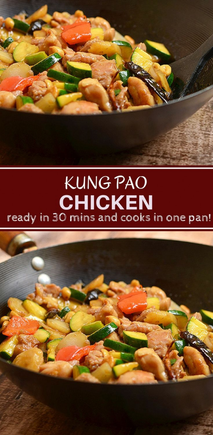 Easy Kung Pao Chicken - Recipes Kung Pao Chicken