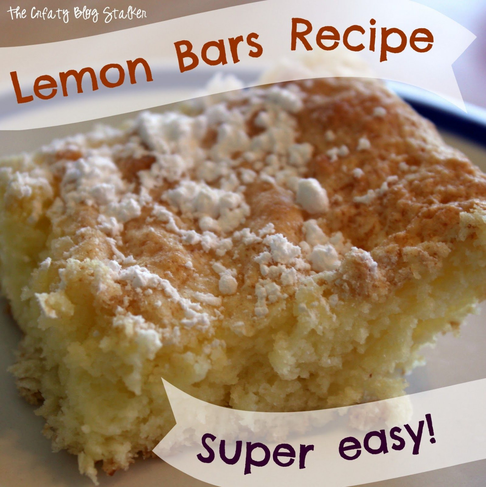 easy lemon squares with angel food cake mix