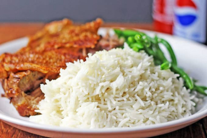 Easy Light Coconut Rice - Dinner, then Dessert - recipes rice dinner