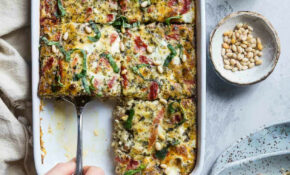 Easy Low Carb Keto Breakfast Casserole With Sausage – Recipes Using Breakfast Sausage For Dinner