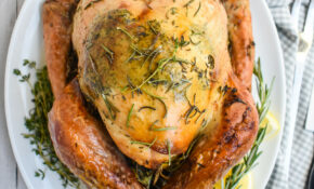 Easy Low FODMAP Lemon And Herb Butter Roasted Turkey Recipe; Gluten Free – Healthy Recipes Roasted Turkey Legs