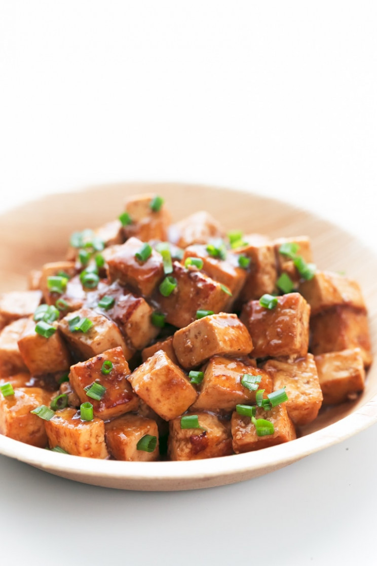 Easy Marinated Tofu - Simple Vegan Blog - tofu vegan recipes dinner