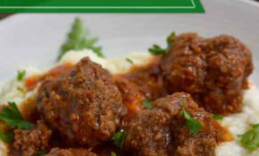 Easy Meatball Crock Pot Recipe | Grass Fed Girl