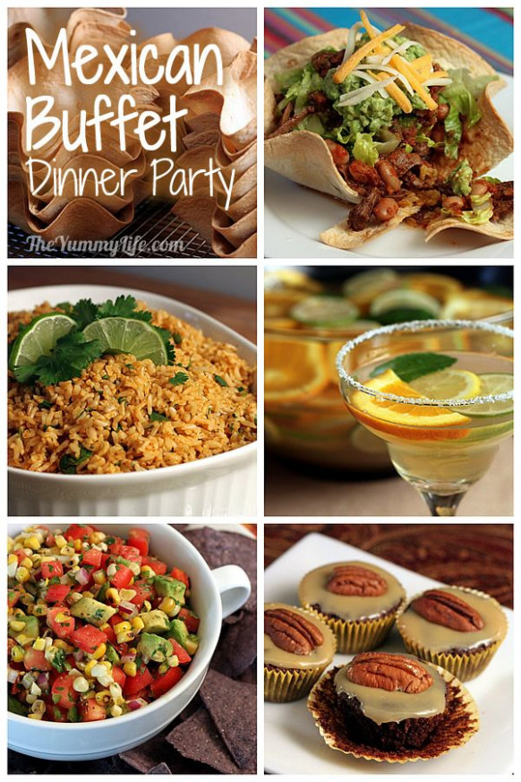 easy mexican recipes for dinner party | My Web Value - recipes mexican dinner party