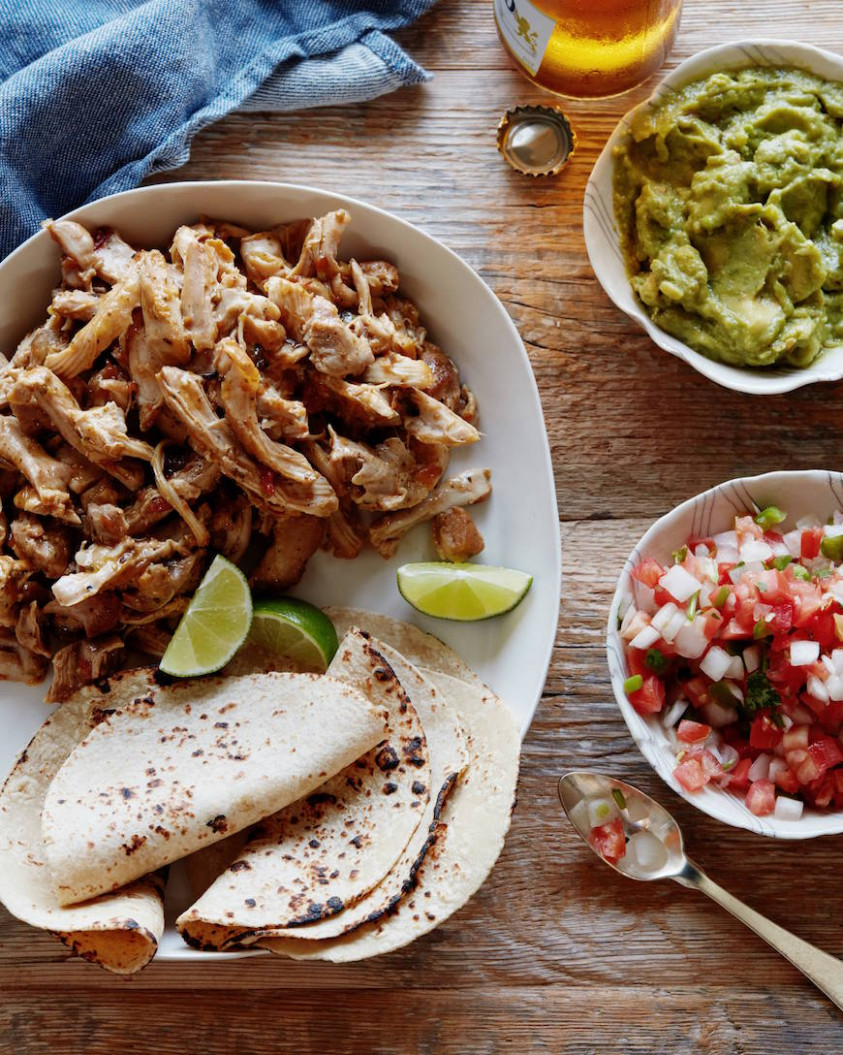 Easy Mexican Shredded Chicken – What's Gaby Cooking – Chow Hub - Recipes For Shredded Chicken