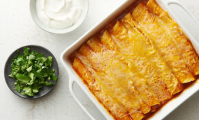 Easy Microwave Chicken Enchiladas Recipe – Tablespoon