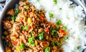 Easy Mongolian Turkey And Rice Bowls Recipe – Sweet Cs Designs – Dinner Recipes Ground Turkey