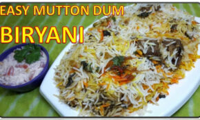 Easy Mutton Dum Biryani | Recipe | BY FOOD JUNCTION – Food Junction Recipes