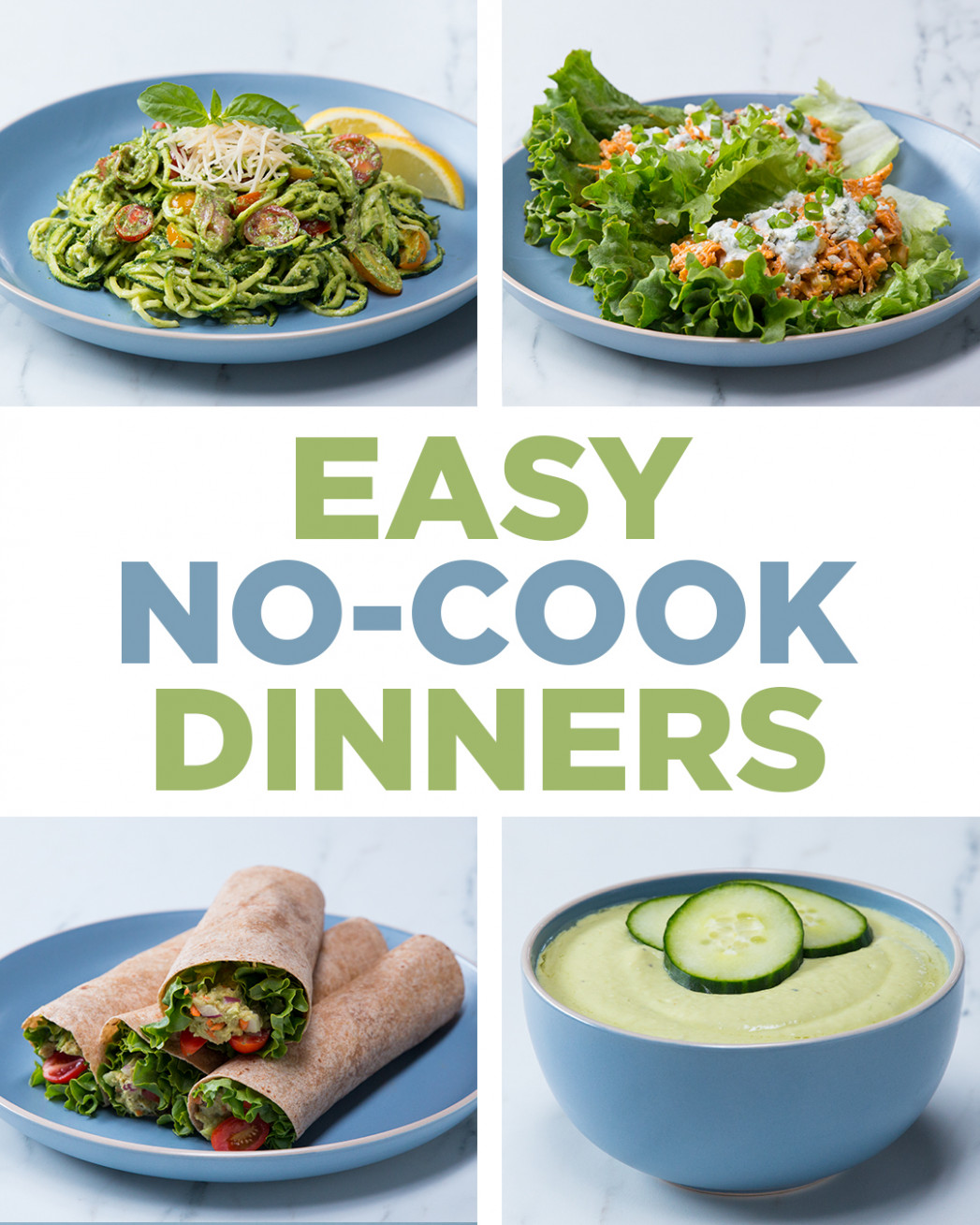 Easy No-Cook Dinners | Recipes - dinner recipes no oven