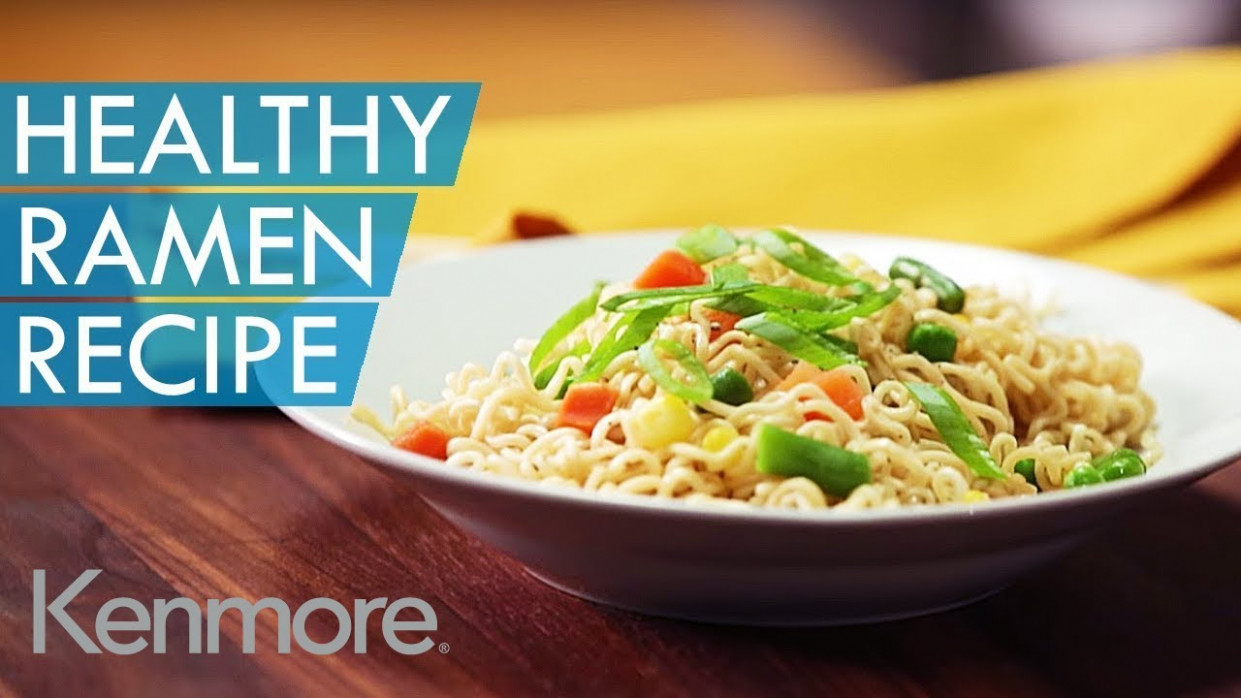 Easy Noodle Recipes: How to Make Healthy Ramen | Kenmore - healthy ramen recipes