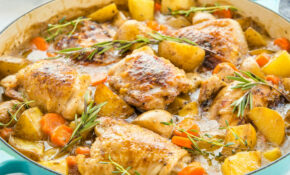 Easy One Pot Roasted Chicken Dinner – Recipes With Chicken