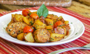 Easy One Skillet Meal: 30 Minute Hearty Italian Sausage ..