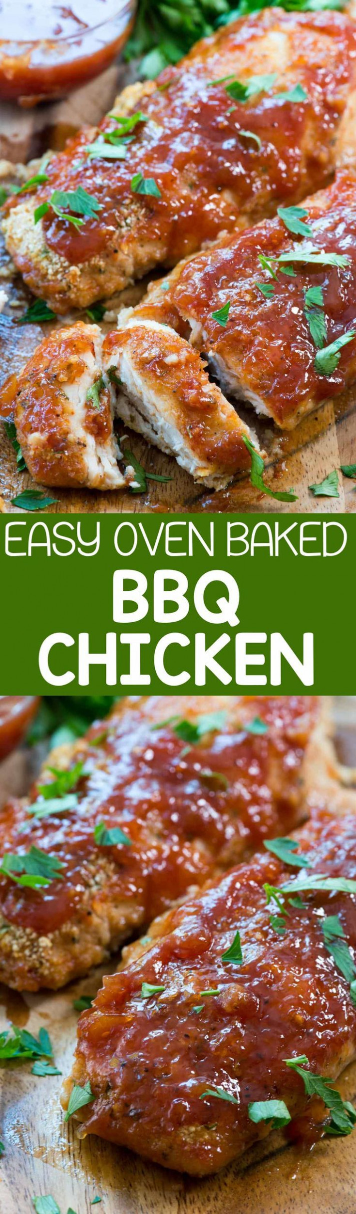 Easy Oven Baked BBQ Chicken - this easy chicken recipe ..