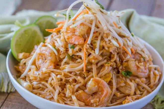 Easy Pad Thai - Dinner, then Dessert - authentic thai food recipes with pictures