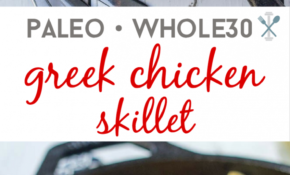 Easy Paleo Greek Chicken Skillet