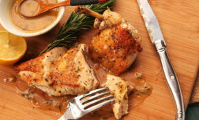 Easy Pan Roasted Chicken Breasts With Lemon And Rosemary Pan Sauce Recipe – Gordon Ramsay Recipes Chicken