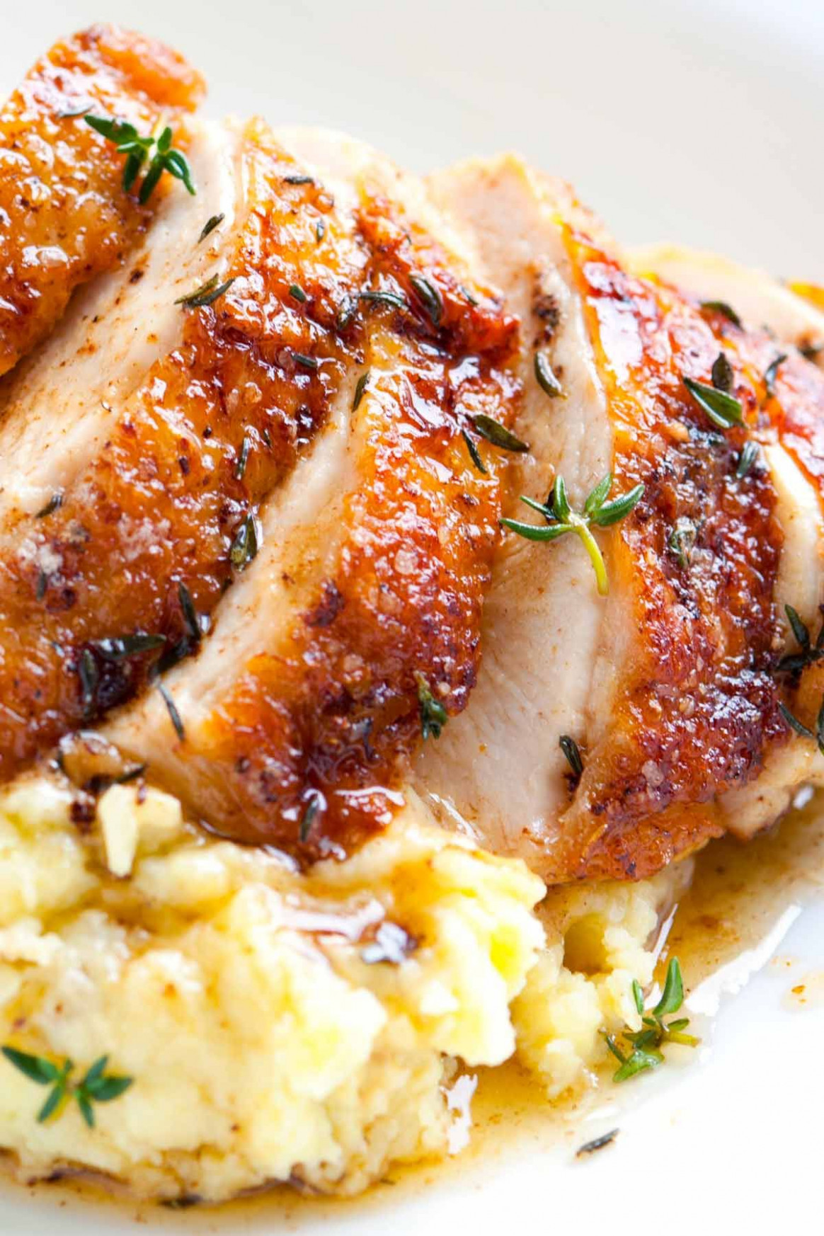 Easy Pan Roasted Chicken Breasts With Thyme - Chicken Recipes Easy To Cook